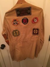 Vintage 1940's Shooting Jacket w/ NRA Patches Matawan Target Masters New Jersey