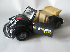 "1:35 Diecast Scale VW Volkswagen Beetle Bug ""I Love New York City"" Car #8602 HK"