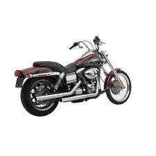Vance & Hines Straight Shots Slip-Ons Chrome, F.Harley - Davidson Dyna 91 - 2016