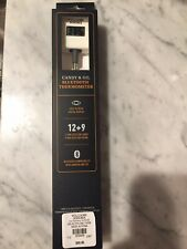 Williams Sonoma Candy & Oil Bluetooth Thermometer ~ Digital Display ~NEW