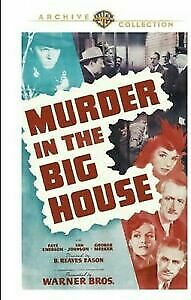 Murder In The Big house - Van Johnson - New and Sealed  DVD