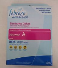 Febreze Upright Vacuum Bags Hoover A Allergen Filtration 3 Bags Replacement