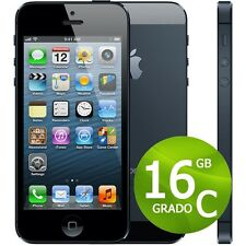 APPLE IPHONE 5 16 GB NEGRO+ACCESORIOS + GARANTÍA 12 MESES REACONDICIONADOS 4 S