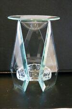 Vidrio aceite esencial Quemador. forma hermosa, utiliza para vaporizarse sus aceites esenciales