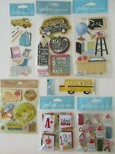 Stickabilities SCHOOL DAYS Paper Studio 2 Sticker Strips A #1 TEACHER BUS