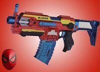 Avenger ELECTRIC Soft Dart Bullet Blaster fits NERF Gun 30 Bullets Kids Xmas Toy