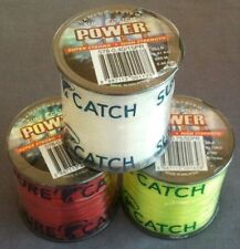 Sure Catch Power Line Tournament Mono RED YELLOW CLEAR 15 20 25 30 40 50 60 80lb