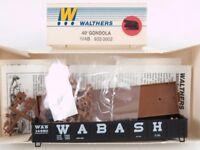 Walthers 932-3802 HO 40' Gondola Kit Wabash WAB #14550