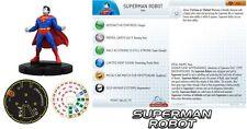 DC HEROCLIX SUPERMAN SET SUPERMAN ROBOT #100 LE  BRICK FIGURE