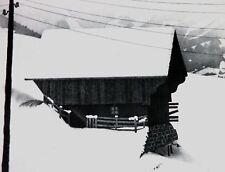 M. C. ESCHER 1976 CALENDAR LITHOGRAPH PAGE, 'SNOW'