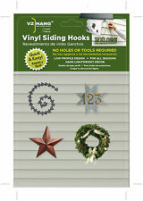 VZ Hang 7 Pack Vinyl Siding Hooks -LOW PROFILE