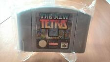 The New tetris Nintendo 64 pal