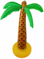 """2x Inflatable Palm Tree 6ft 168cm 72"""" Hawaiian Summer Party UK SELLER QUICK DESP"""