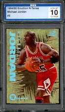 1994-95 Skybox Emotion N-Tense #3 Michael Jordan AGS 10 GEM MINT