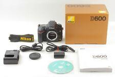 【TOP MINT in Box】Nikon D600 Digital SLR Camera 18000Shutter Count from JAPAN 155