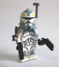 Lego Custom COMMANDER WOLFFE Minifigure W/ Custom Helmet, Pauldron, Pistols