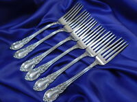 LUNT AMERICAN VICTORIAN STERLING SILVER DINNER FORK - GOOD CONDITION