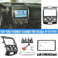 For Ford Ranger PK/PJ For Mazda BT-50 07-2011 Double-Din Fascia Facia Dash Kit