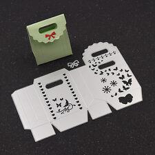 Schmetterling Schachtel DIY Stanzschablone Box Prägeschablone Schleife Geschenk