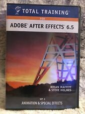 Total Training For Adobe After Effects 6.5 Set 2 : Animation and Special Effects