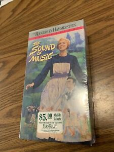 The Sound of Music (VHS, 1991, 2-Tape Set) New And Sealed Julie Andrews FOX