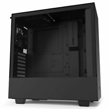 NZXT CA-H510B-B1 Compact Mid-Tower Case with Tempered Glass (matte black)