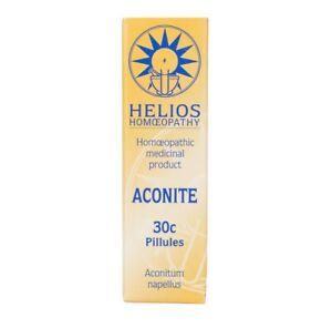 Helios Homeopathy Aconite 30c Pillules