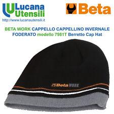 BETA CAPPELLO CAPPELLINO INVERNALE FODERATO modello 7981T Berretto Work Cap  Hat a747c63b38a3
