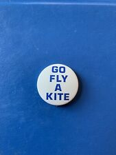 New listing Go Fly A Kite Pin Button Vintage