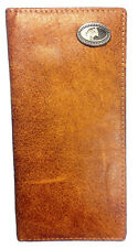 Official Mossy Oak Leather Western Style Wallet Mossy Oak Leather Bi-Fold Wallet
