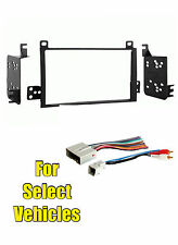 2003-11 Lincoln Town Car Double Din Car Stereo Radio Install Dash Trim Kit Combo
