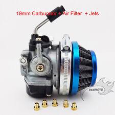 Carb Carburetor Air Filter Jets For 50-80cc 2 stroke Motorized Bicycle Push Bike