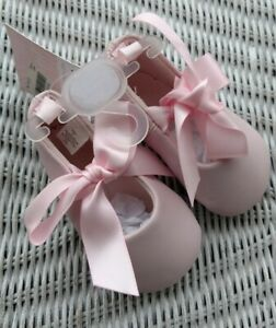 Shoes Ballerina byMacy'sTrimfootCO Infant BabyGirl Pink 3-6Months Size 2 DEC2020