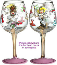 Bridesmaid Lady Party Wine Glass