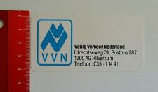 Aufkleber/Sticker: VVN Veilig Verkeer Nederland (130516180)