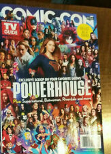 2019 SDCC COMIC CON TV GUIDE POWERHOUSE WOMAN SUPERHEROES WONDER WOMAN SUPERGIRL