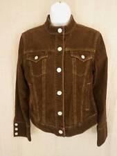 Gap Brown Corduroy Jacket Womens Small Cotton Stretch