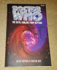 DOCTOR WHO - THE DEVILS GOBLIN FROM NEPTUNE Book SIGNED by Co-Author- MARTIN DAY