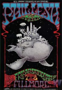Phil Lesh & Friends Concert Poster 1998 F-337 Fillmore