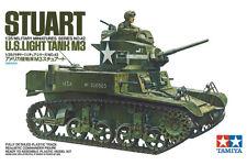 Tamiya U.S. M3 Stuart Light Tank 1/35 scale model kit new 35042