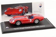 Maserati Tipo 61 #9 Guards Trophy 1963 Casner 1:43 Leo Models