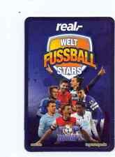 Real copa mundial Stars 2014 de lista 20 cartas escoger también Silver Edition