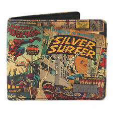 Retro Bifold Wallets for Men with Credit Card