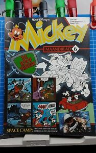 Disney Micky,  Mickey Maandblad Großbrand Nr. 06   1.Auflage  06.1983 Disneyana