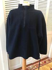 Buffer Zone Half Zip Fleece XL Navy Blue
