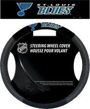 St. Louis Blues Steering Wheel Cover NHL Hockey Team Logo Poly Mesh