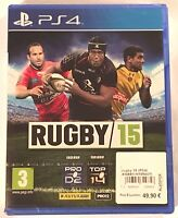 RUGBY 15 Neuf sous blister Jeu PS4