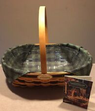 Longaberger 1998 Traditions Collection Hospitality Basket Combo ~Excellent!