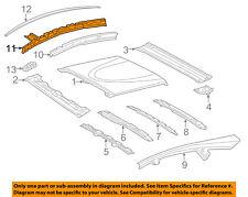 TOYOTA OEM 12-14 Prius V-Exterior Roof Side Rail Left 6120447021