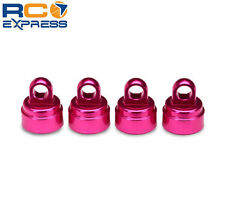 Traxxas Pink Aluminum Shock Caps Slash Rustler Stampede Tmaxx TRA3767P
